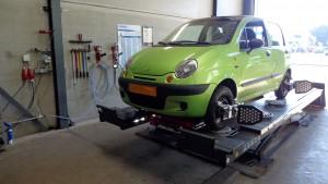 Daewoo Matiz uitlijnen