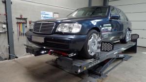 Mercedes S600 (W140) 1998 Uitlijnen