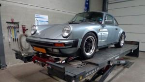 Porsche 911 Carrera 1978 Uitlijnen