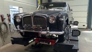 Rover P5 Coupe 1965 Uitlijnen