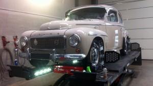 Volvo 544 (Katterug) 1958 Uitlijnen