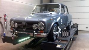 Alfa Giulia 1978 Uitlijnen