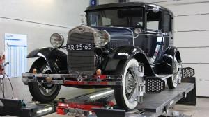 Ford Model A 1931 Uitlijnen